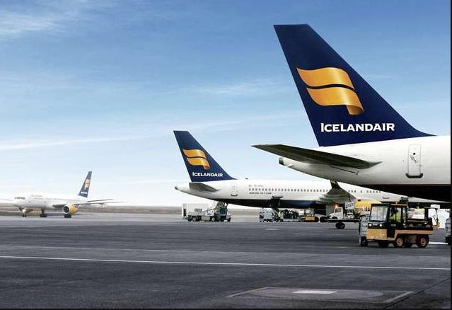 La compagnie islandaise relie désormais 27 villes européennes et 16 villes américaines à Reykjavik © DR Icelandair
