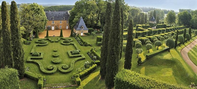 Les jardins dEyrignac attirent chaque année 90  000 visiteurs DR: Skyme