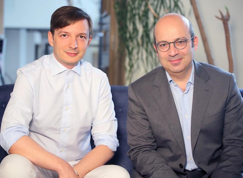 Milan Stankovic, Fondateur de Sépage et Christian Sabbagh , Président-fondateur de Travelsoft-Orchestra (c) Travelsoft