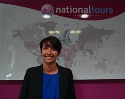 Vanessa Lesiourd responsable de la promotion des ventes Nationaltours - DR