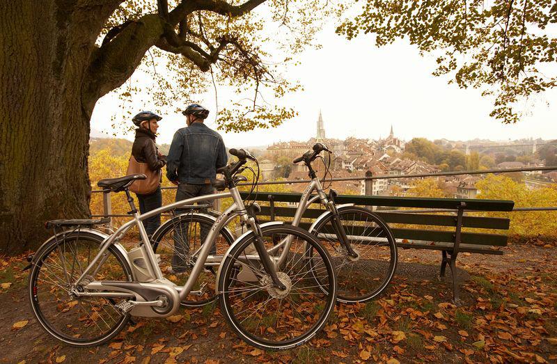 La Suisse à vélo : cyclotourisme en Emmental et dans la capitale