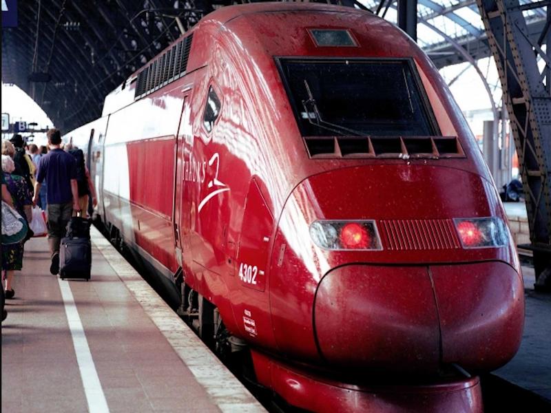 En 2016, les trains Thalys ont transporté 6,7 millions de personnes en France, en Belgique, aux Pays-Bas et en Allemagne. Prochain objectif : 7 millions © DR