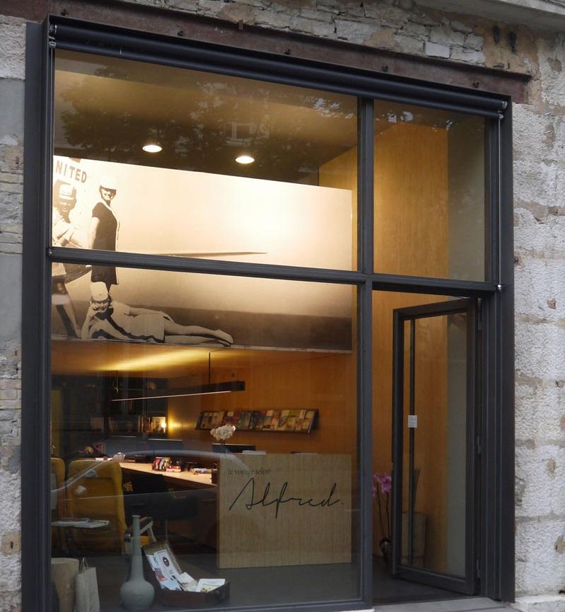 """L'agence """"Les Voyages selon Alfred"""" de Grenoble ouverte en 2014 - Photo DR"""