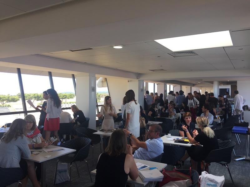 Le CRT Provence-Alpes-Côte d'Azur et 120 professionnels du tourisme partageait leur réflexions et fédéraient leurs efforts pour promouvoir la destination sur les mois à venir. DR: CRT PACA