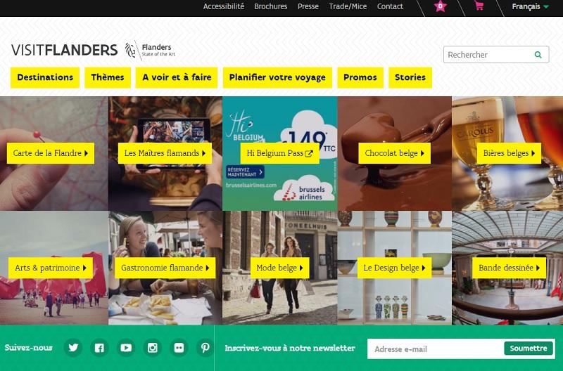 Appel d'offre : VisitFlanders recherche une agence de com et/ou de Community Management