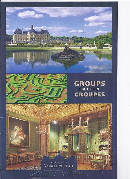 """Brochure """"Groupes"""" : 12 pages d'informatins historiques et pratiques."""