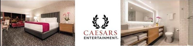 Les 1 270 chambres de l'hôtel Flamingo Las Vegas seront rénovées à partir de juillet 2017 - DR : Caesars Entertainment