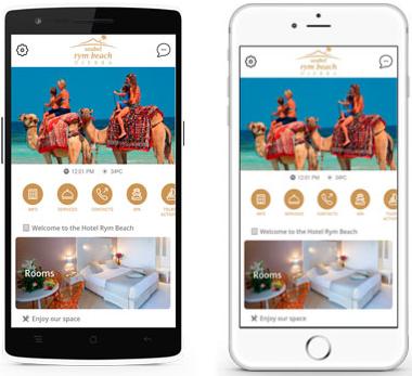 L'application de Seabel Hotels Tunisia est pour le moment disponible en anglais et en français - DR : Seabel Hotels Tunisia
