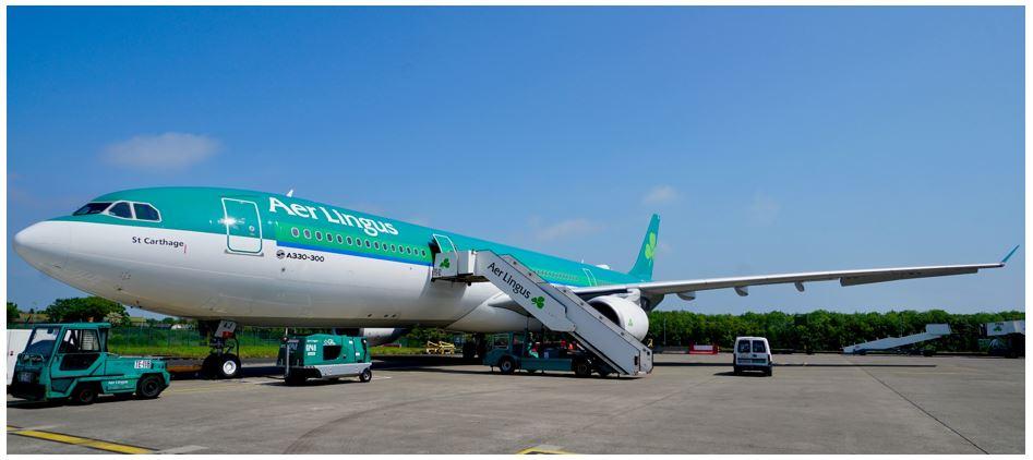 Aer Lingus a réceptionné l'Airbus A330-300 le 24 mai 2017 - Photo : Aer Lingus