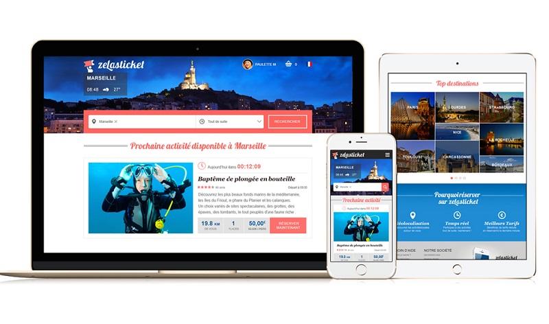 Zelasticket vous propose en un click des activités quotidiennes à bas prix sur Marseille et région. DR: Zelasticket