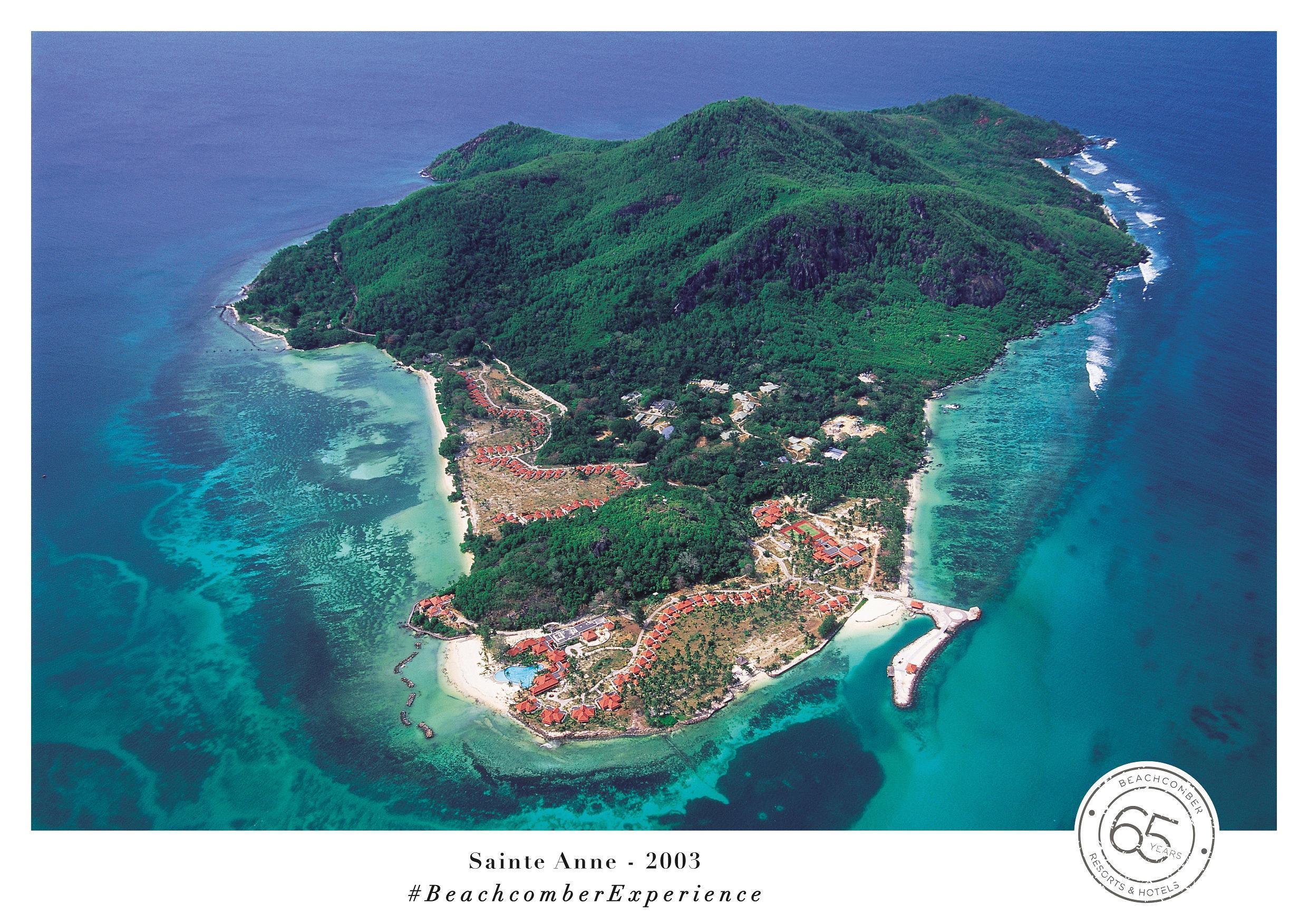 En 2001, le Sainte Anne Resort & Spa est inauguré sur une île seychelloise privée de 220 hectares, au cœur d'un magnifique parc marin - DR : Beachcomber