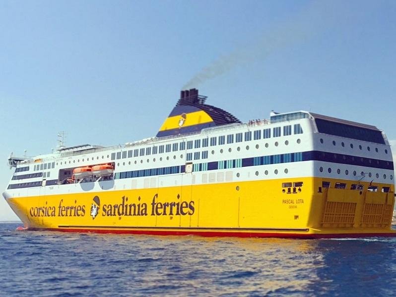 Le Pascal Lota est le 13e navire de la flotte de Corsica Ferries - Photo : Corsica Ferries