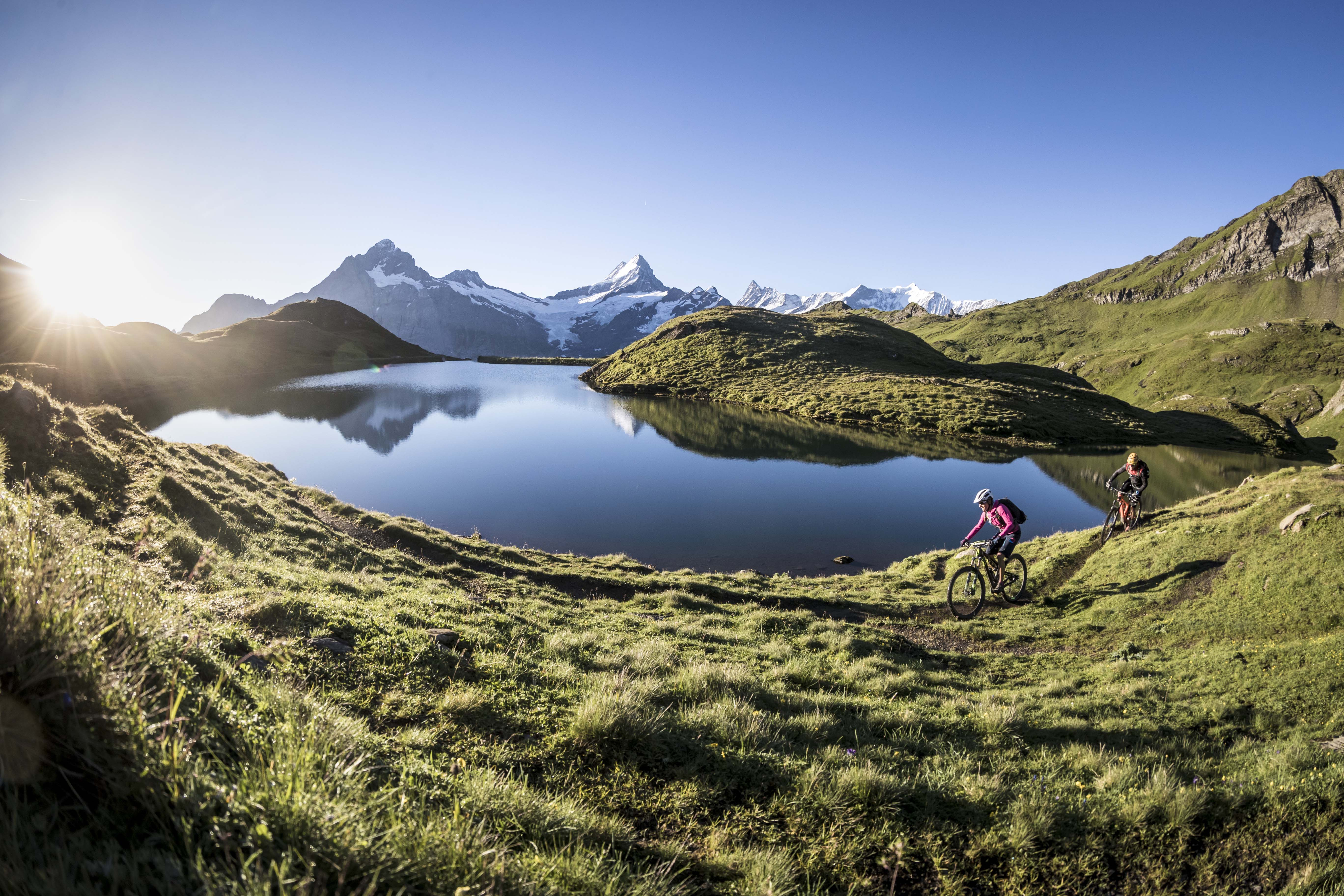 En route pour la Suisse à Vélo !