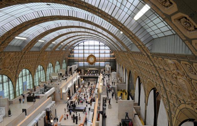 L'allée centrale du musée d'Orsay à Paris - Photo : ©-Fotolia