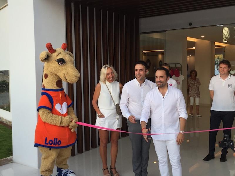 Nicolas Delord, P-DG de Thomas Cook France, inaugurant le nouveau club d'Alcudia, dans les Baléares, vendredi 23 juin 2017 © DR PG Tourmag