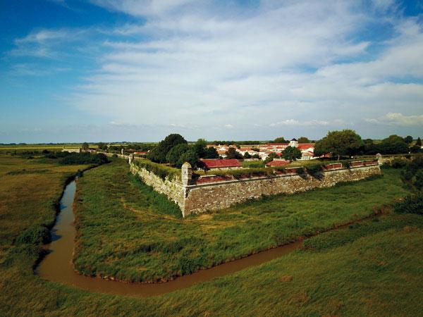 Brouage est le 5e village de Charente-Maritime a être classé parmi Les Plus Beaux Villages de France - Photo : Régis Croizer