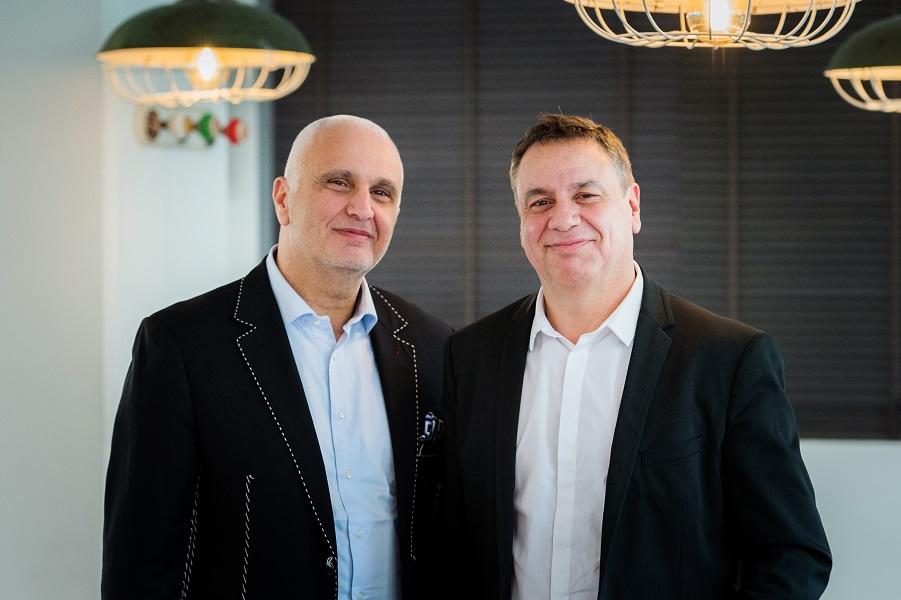 Serge Tapia et Alain Roussel, patron de Serviceplan en France - Photo : Serviceplan
