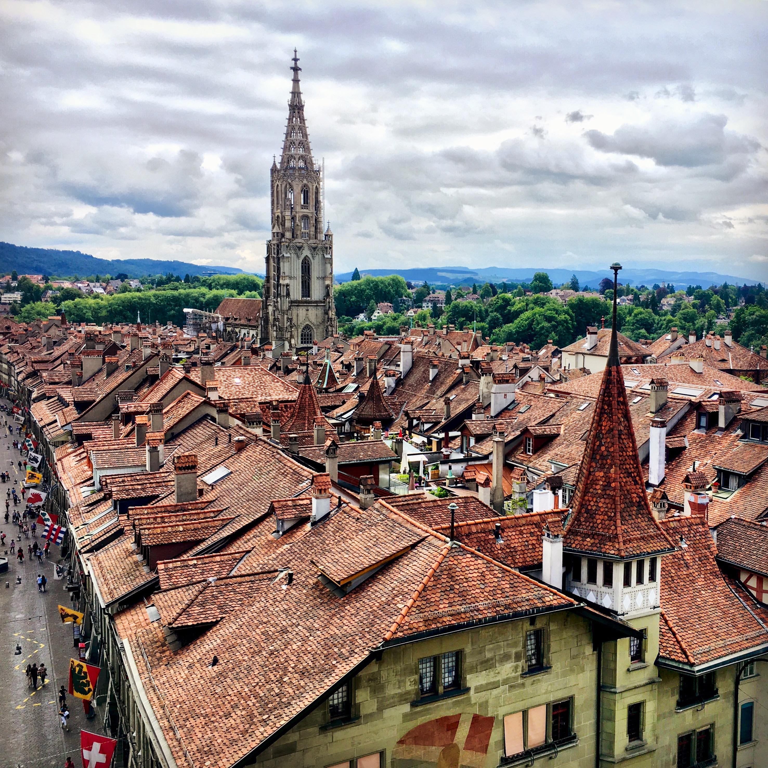 Les toits de Berne © L.Medina, Tourmag