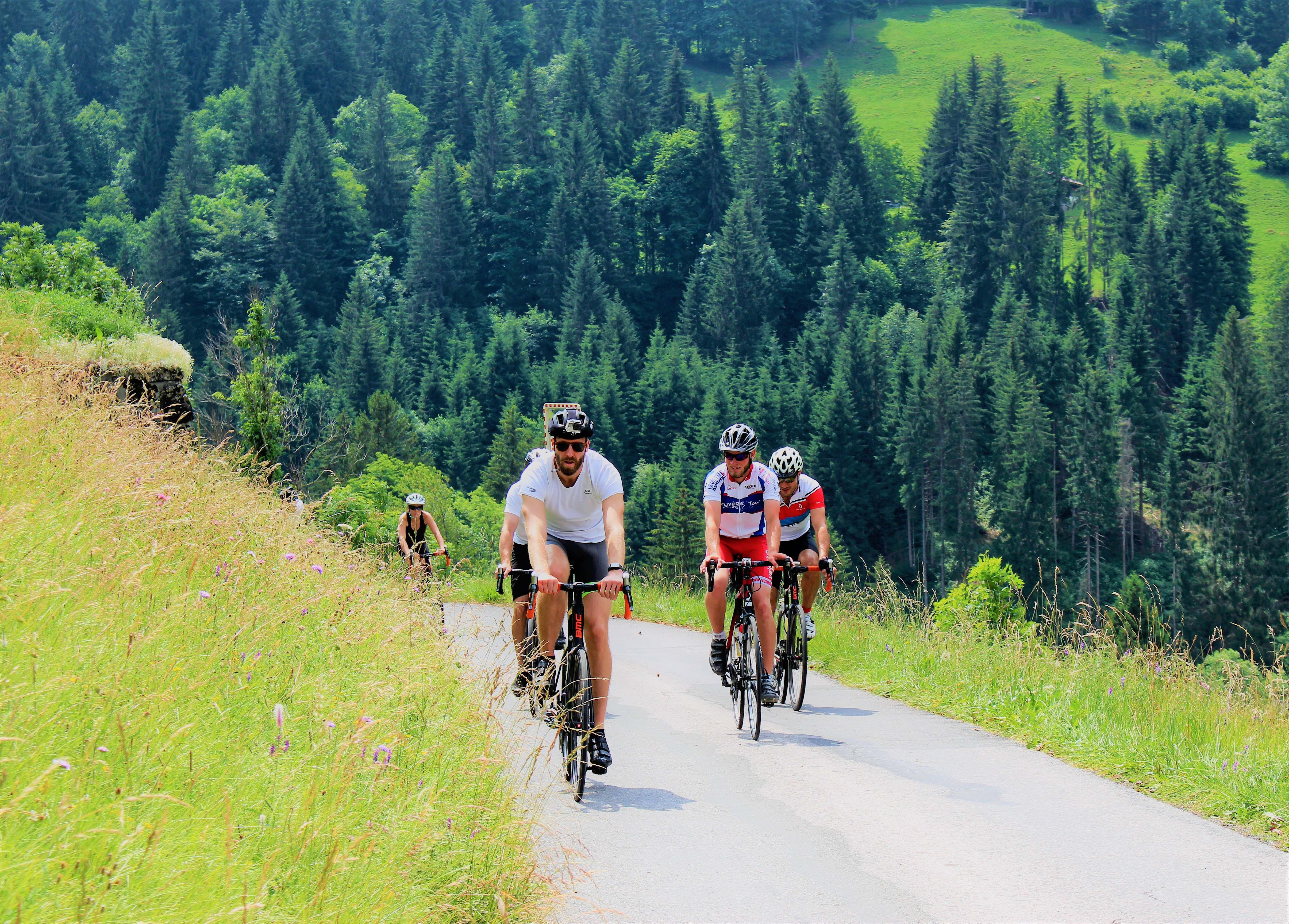 La Suisse à vélo © Olivier Caillaud