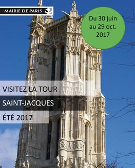 La Tour Saint-Jacques ouvre ses portes au public jusqu'au 29 octobre 2017 - DR : Des Mots et des Arts