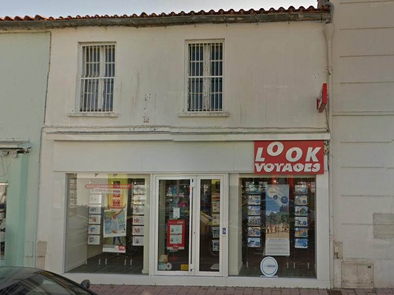 La vitrine de l'agence Look Voyages de Challans - DR : Google Street View