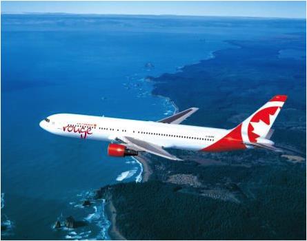 Air Canada Rouge volera entre Montréal et Alger 4 fois par semaine - Photo : Air Canada Rouge
