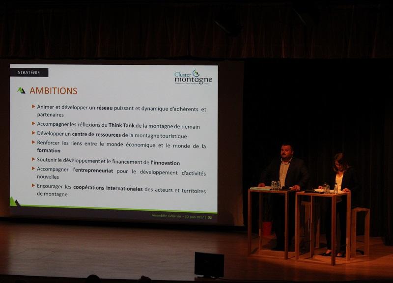Le Cluster Montagne a identifié sept enjeux prioritaires pour renforcer l'attractivité et la performance de la filière et des territoires touristiques - DR : Cluster Montagne