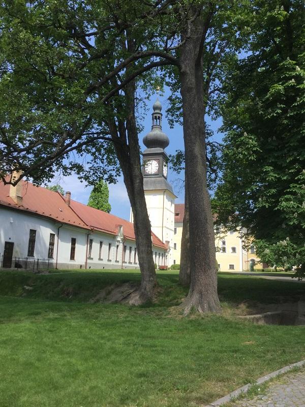 Des chambres d'hôtes dans la tour du château de Zdar nad Sazavou - DR : J.-P. C.