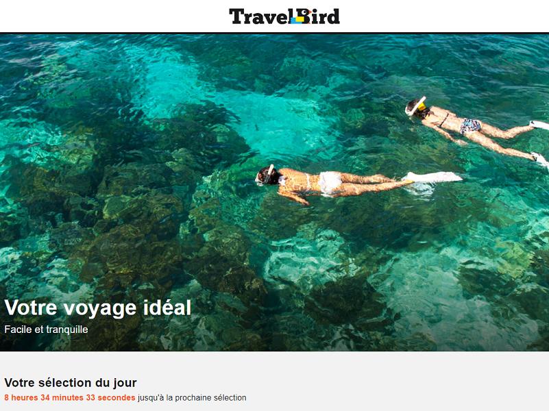 TravelBird est désormais immatriculée au registre des opérateurs de voyages et de séjours d'Atout France - Capture d'écran