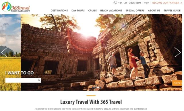 H2hôtels représente 365Travel Asia sur le marché français