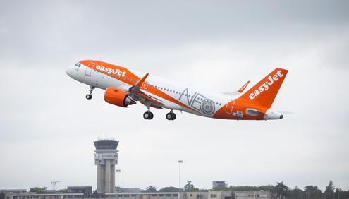 Le trafic d'easyJet décolle en juin 2017 - Photo : easyJet