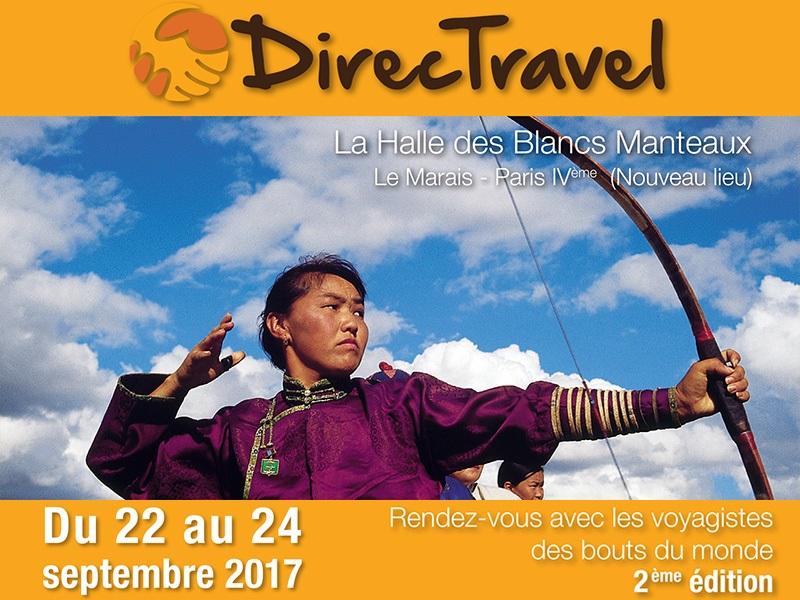 DMCMag.com et DirecTravel signent un partenariat pour la 2e édition du salon - DR : Capture d'écran DirecTravel
