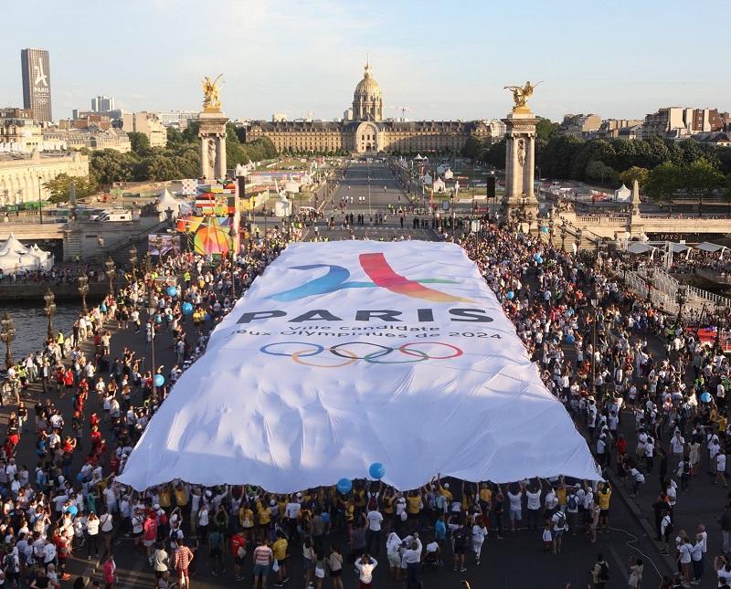 L'organisation des Jeux Olympiques de 2024 (ou même de 2028) ne pourrait être que bénéfique pour Paris et l'ensemble de la destination France. Pourtant, si l'on en croit les sondages, nos concitoyens ne semblent pas particulièrement motivés - Photo Paris 2024 Facebook