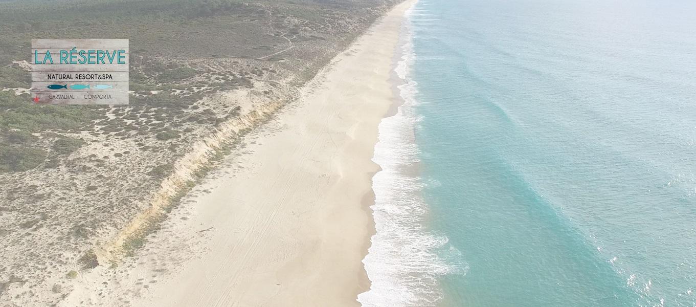 La Réserve sera située à Comporta, près des plages de l'océan Atlantique - Photo : Terrésens