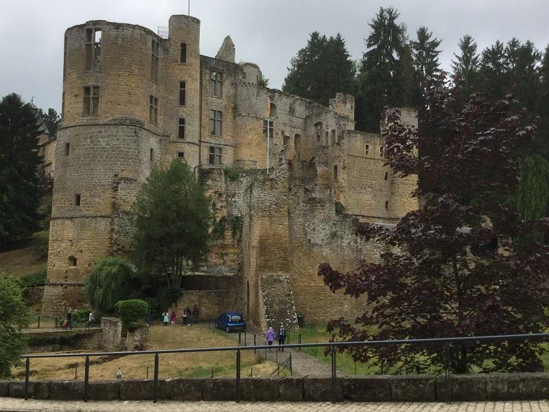 Beaufort, château du XIe siècle - DR : J.-P.C.