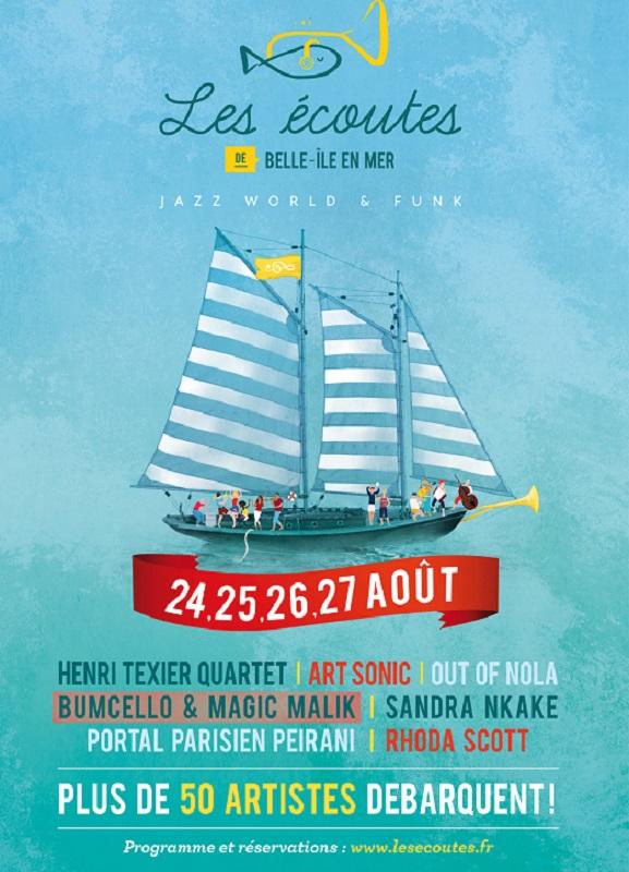 2e édition du festival de jazz à Belle-Île-en-Mer