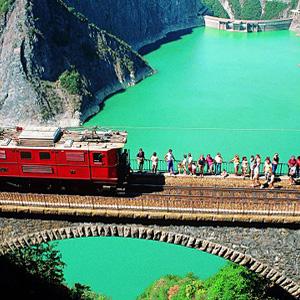 Le train touristique circulera à nouveau entre La Mure et Grand Balcon à partir de 2020 - Photo : La Mure
