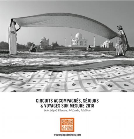 Couverture de la brochure 2018 de la Maison des Indes - DR : Maison des Indes