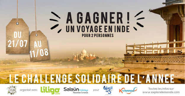 Salaün Holidays soutient le #WashIn5Challenge