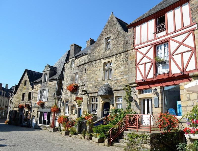 Rochefort-en-Terre est un « Village fleuri ». Quatre étoiles, oui monsieur ! - DR : Mairie Rochefort-en-Terre