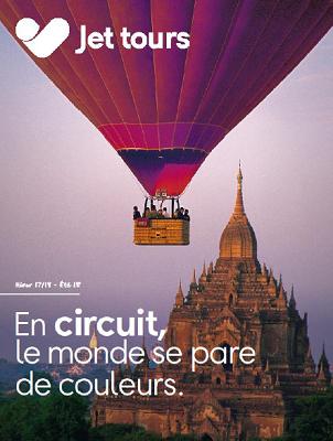Couverture de la brochure de Jet tours pour l'hiver 2017/2018 - DR : Jet tours