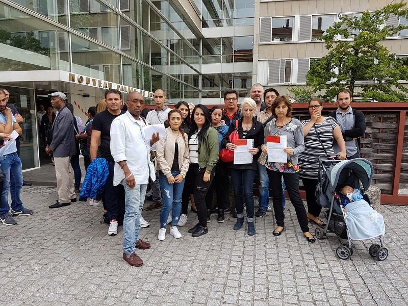 Les clients lésés d'Anatolia Voyages à Lyon - Photo : Facebook