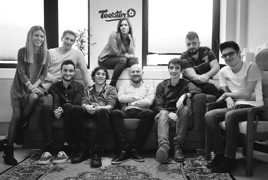 La team Teester (c) Teester