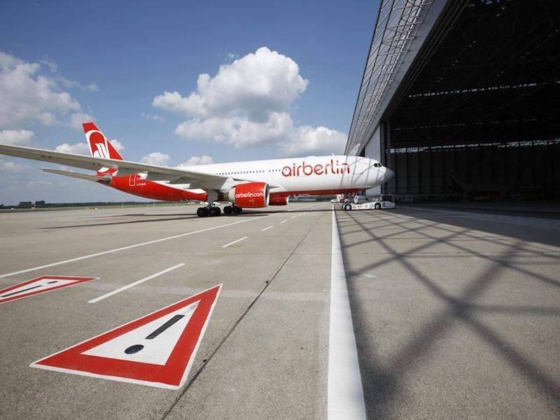 Air Berlin a déposé le bilan mardi 15 août dernier © DR Air Berlin