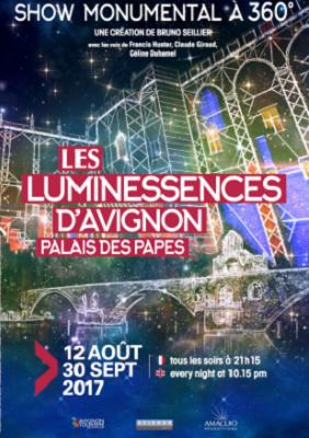 Capture d'écran Les Luminessences d'Avignon
