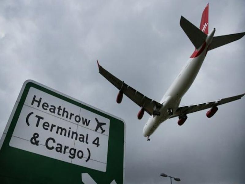 A Londres-Heathrow, premier aéroport européen © DR