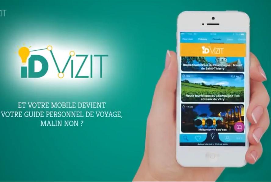 Cette application permettra à un touriste, depuis son smartphone ou sa tablette, de suivre un itinéraire, de s'informer et d'interagir de manière dynamique et personnalisée sur le circuit à emprunter (c) IDVizit