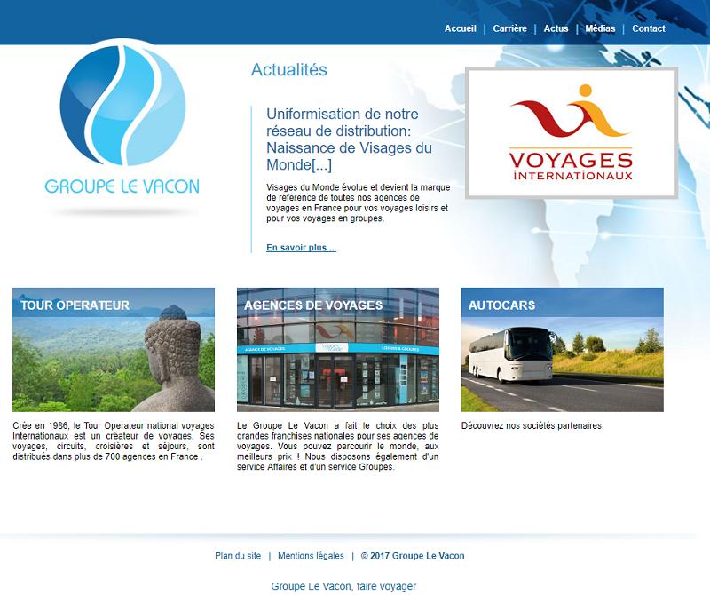 Le groupe Le Vacon compte désormais 31 agences de voyages dans son réseau - DR