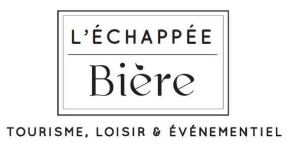 C'est l'agence spécialisée L'Échappée Bière qui est à l'initiative des premières Assises du tourisme brassicole - DR