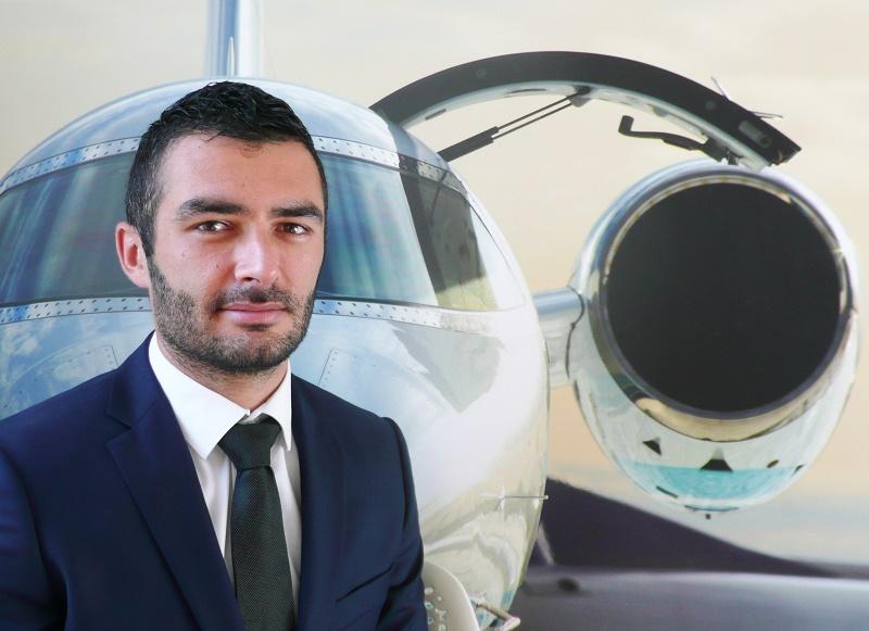 Rémi Aubin est le nouveau directeur aviation commerciale d'Air Charter Service en France - DR ACS